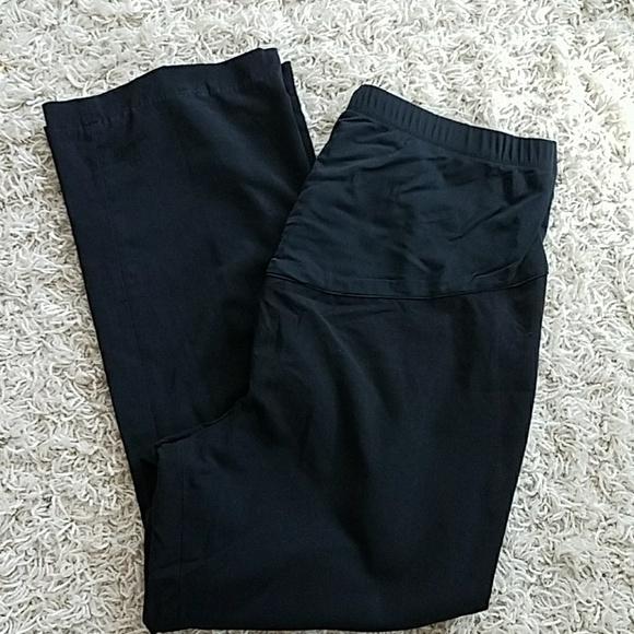 Liz Lange Pants Plus Size Black Maternity Dress Poshmark